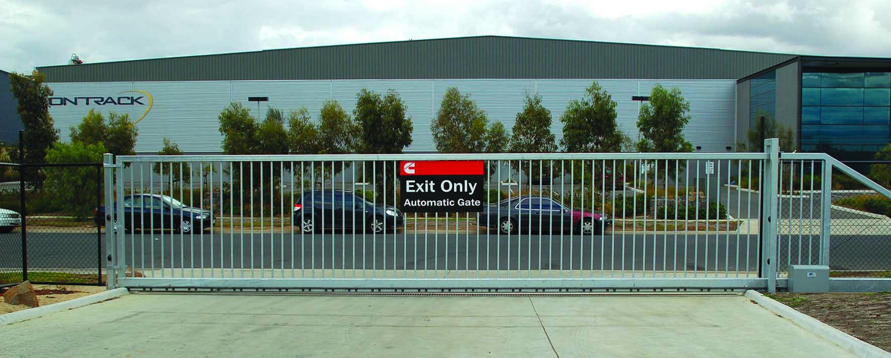 Cantilever Gates Oztime Security Bollards